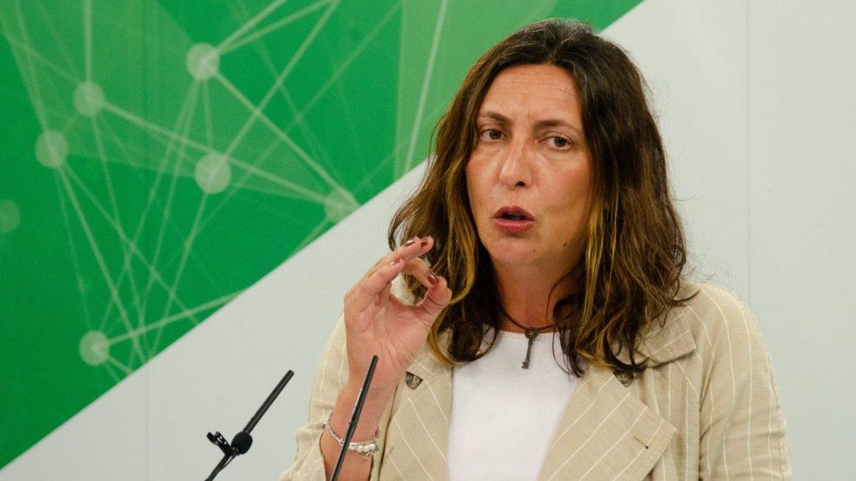 La secretaria general del PP-A, Lolez López (Antonio Delgado-Roig / PP-A).