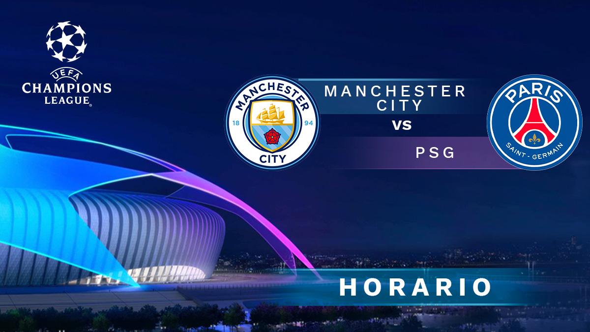 Champions League 2020-2021: Manchester City – PSG| Horario del partido de fútbol de la Champions League.