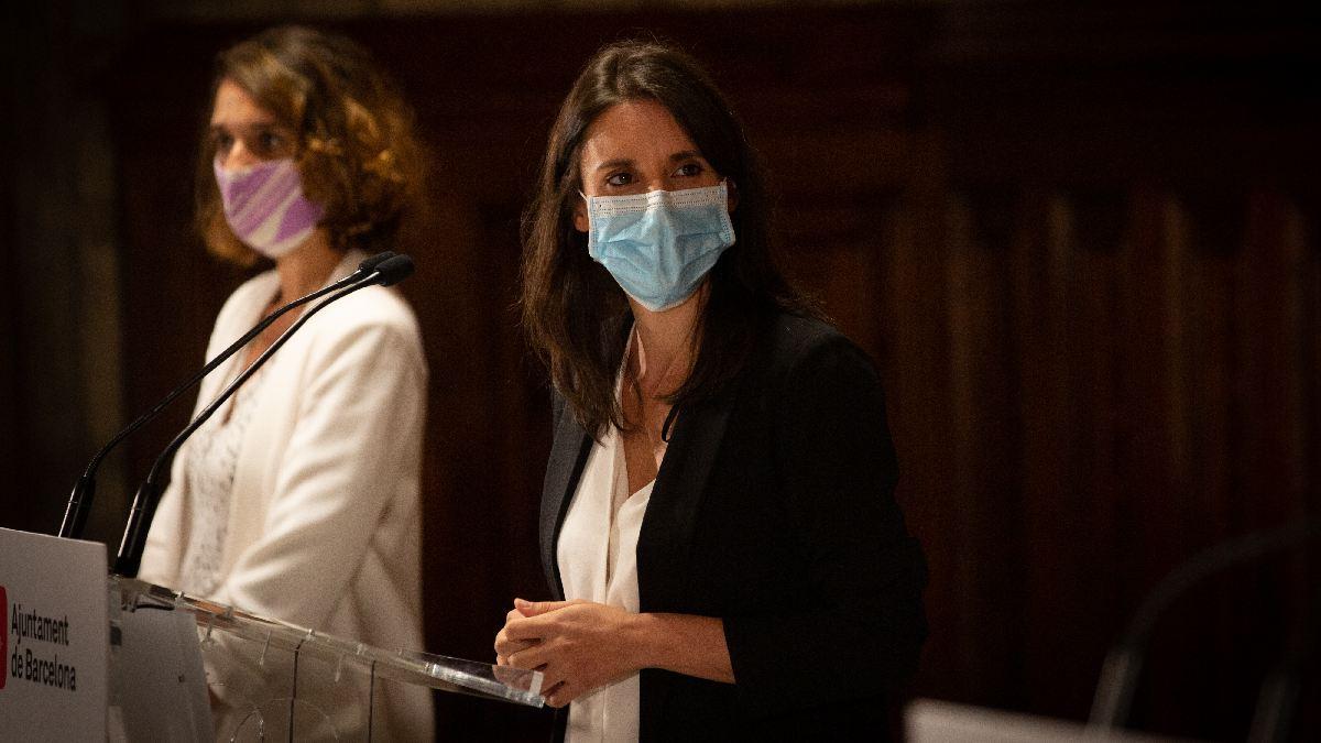 Irene Montero y Noelia Vera. (Foto: EP)