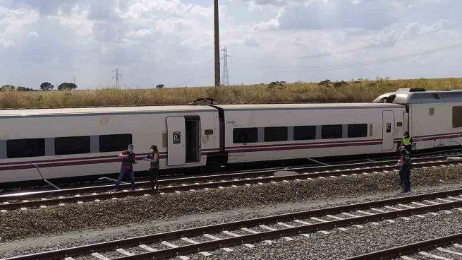 Descarrila un tren Alvia Madrid-Gijón en León sin causar daños personales
