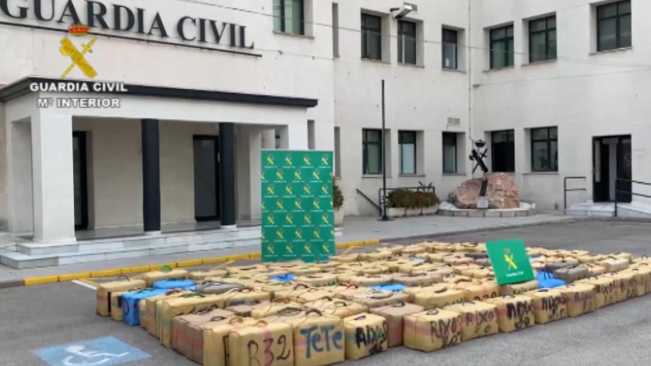 La Guardia Civil interviene cinco toneladas de hachís provenientes de Marruecos