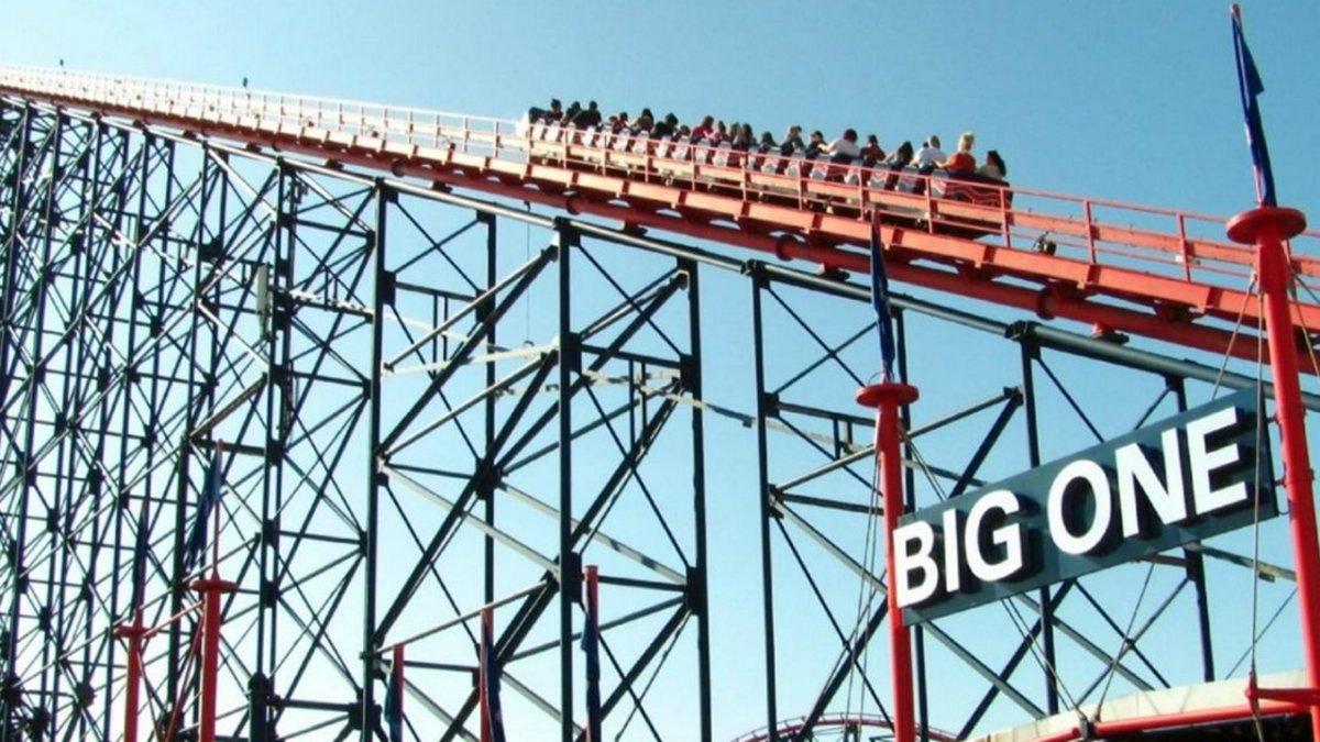 The Big One, la montaña rusa más alta de Reino Unido