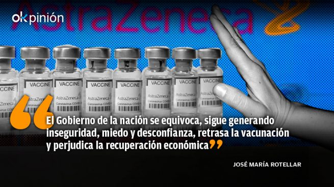 Los criterios políticos del Gobierno contra AstraZeneca