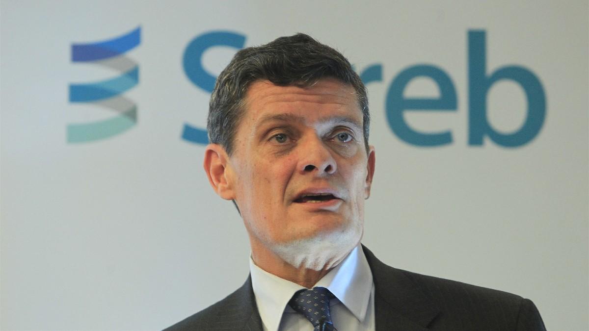 El presidente de Sareb, Jaime Echegoyen