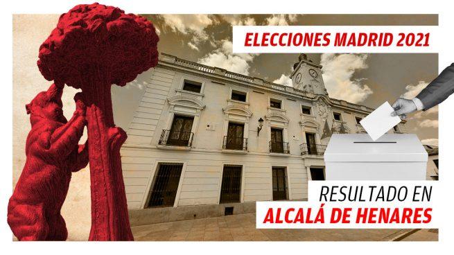 Resultados de las elecciones a la Comunidad de Madrid en Alcalá de Henares
