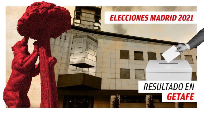 Resultados de las elecciones a la Comunidad de Madrid en Getafe