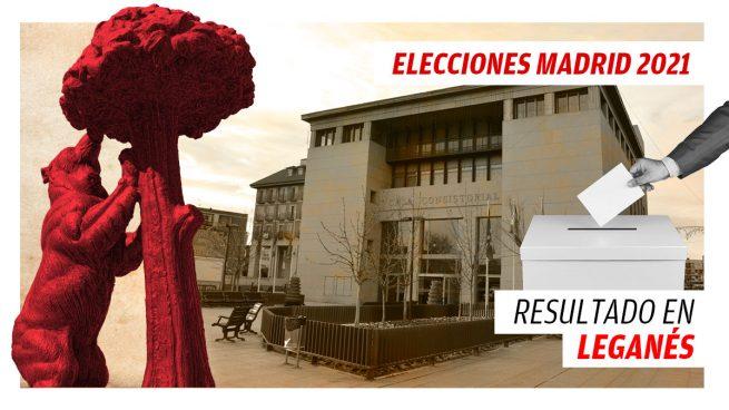 Resultados de las elecciones a la Comunidad de Madrid en Leganés 4 de mayo