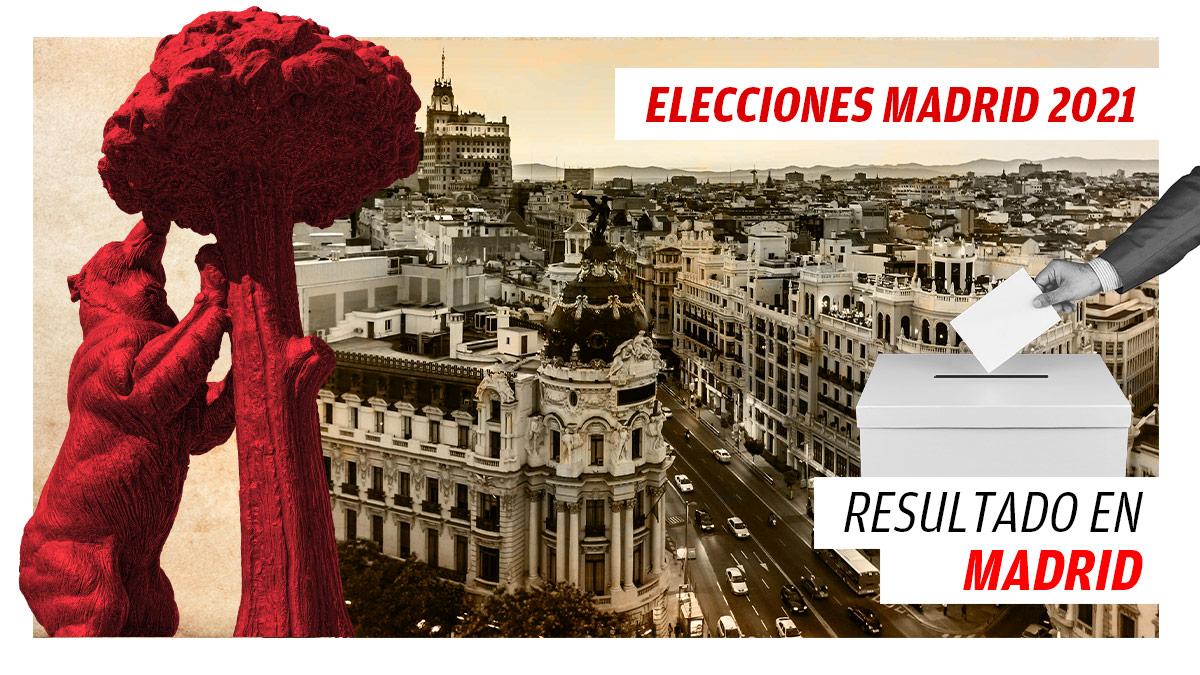 Resultado elecciones Madrid 2021