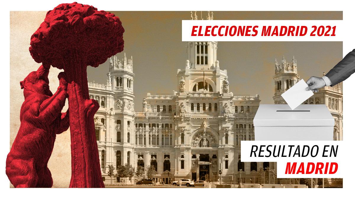 Resultado de las elecciones a la Comunidad de Madrid