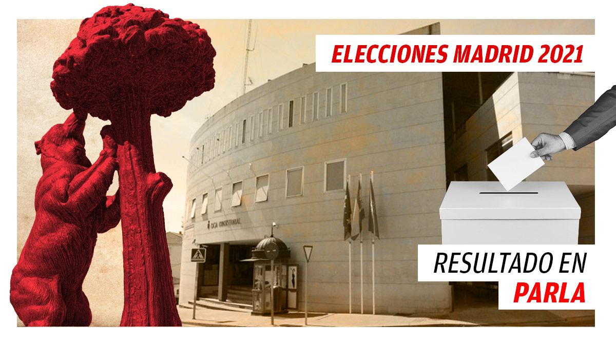 Resultados de las elecciones a la Comunidad de Madrid en Parla