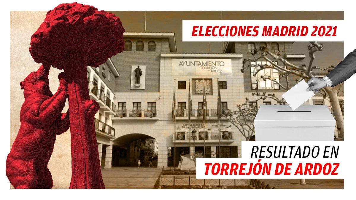 Resultado de las elecciones del 4M en Torrejón de Ardoz