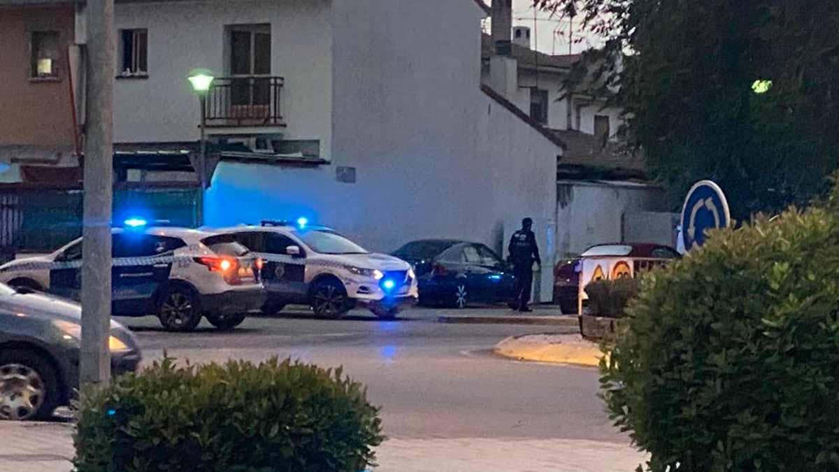 Imagen sobre el tiroteo en Ciudad Real