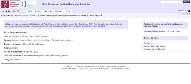 Centro electoral de Madrid: ¿Cómo saber la mesa dónde tienes que votar en las elecciones a la Comunidad de Madrid hoy?