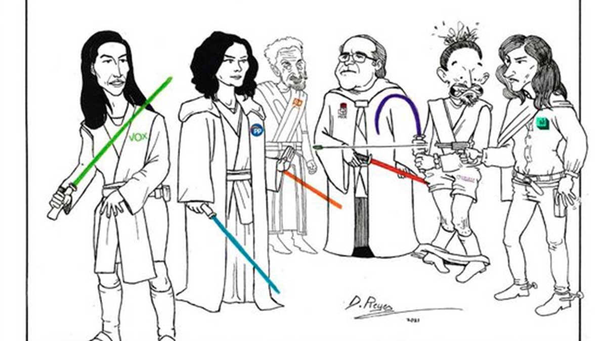Meme de las elecciones en la Comunidad de Madrid