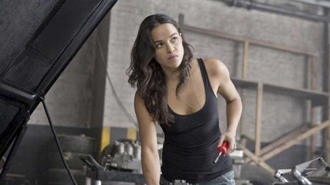 Michelle Rodríguez en la saga Fast and Furious