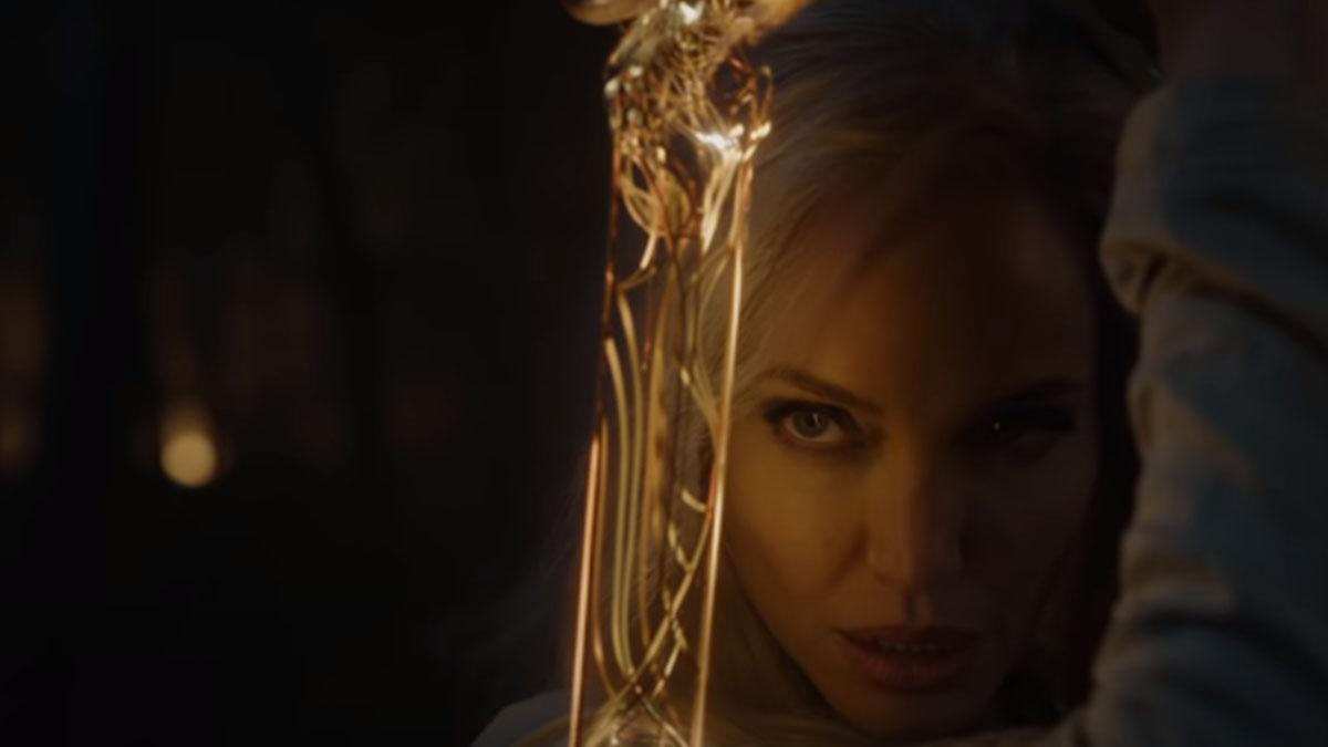 Primer vistazo a Angelina Jolie en «Los eternos» (Disney)