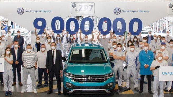 Volkswagen Navarra está de celebración: fabrica su coche número 9 millones