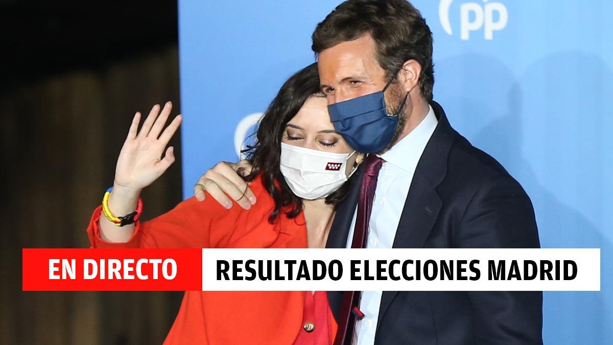 Resultado de las elecciones en Madrid.