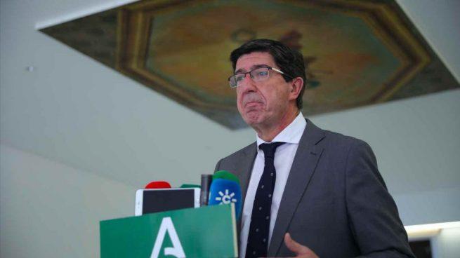 La Junta de Andalucía celebra el adiós de Iglesias: «Sólo ha traído confrontación y trincheras»