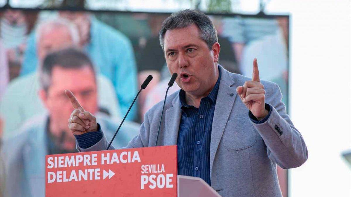 Juan Espadas (PSOE), alcalde de Sevilla (Jesús Prieto / Europa Press).