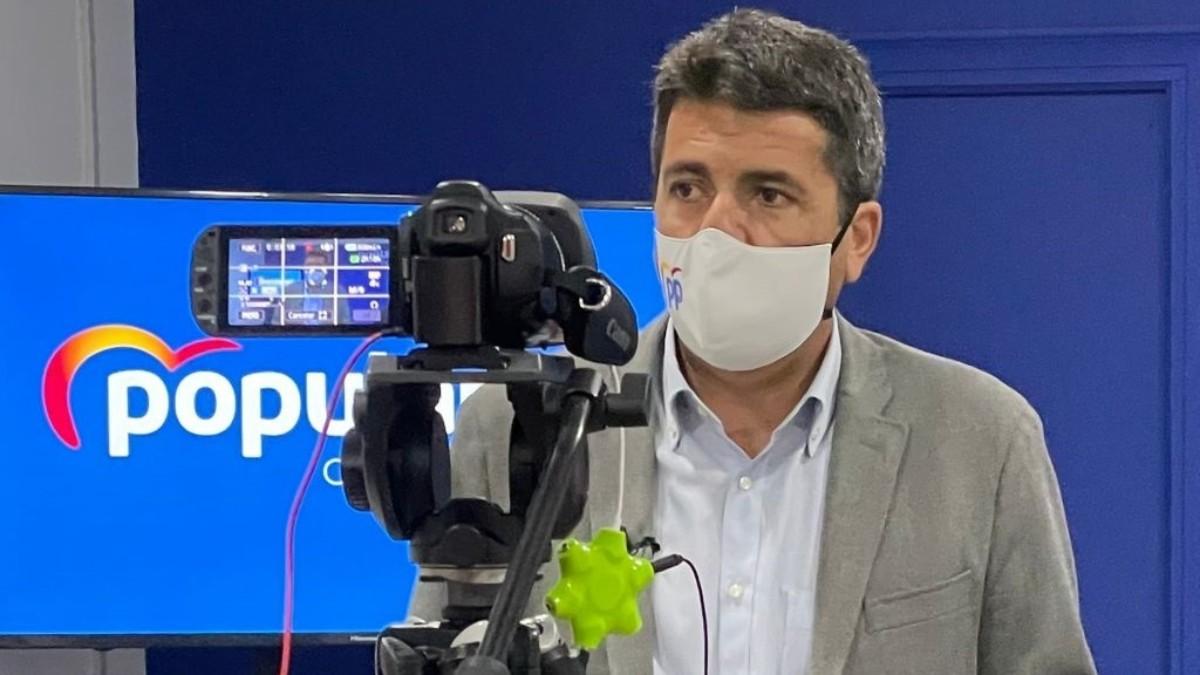 Carlos Mazón, presidente del PP de Alicante.