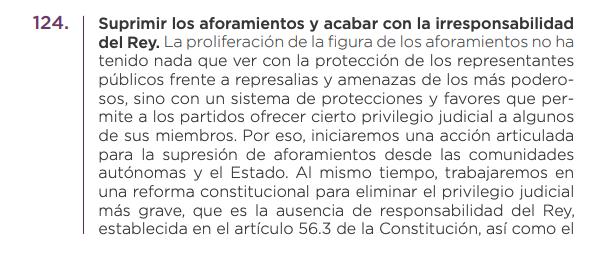 Extracto programa electoral 10-N
