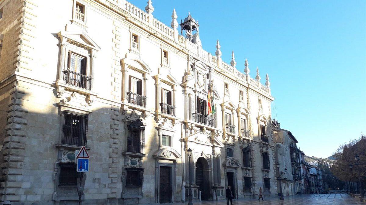Real Chancillería de Granada, sede del TSJA (Europa Press).