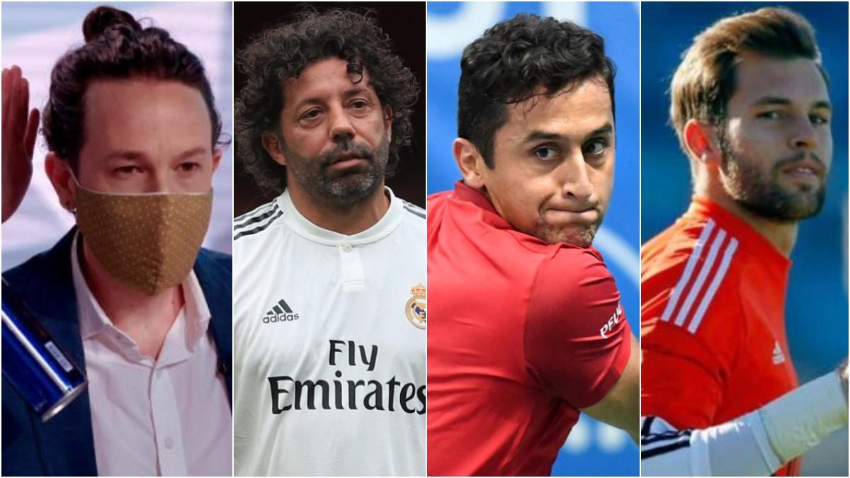 Pablo Iglesias, Iván Campo, Nico Almagro y Jesús Fernández.