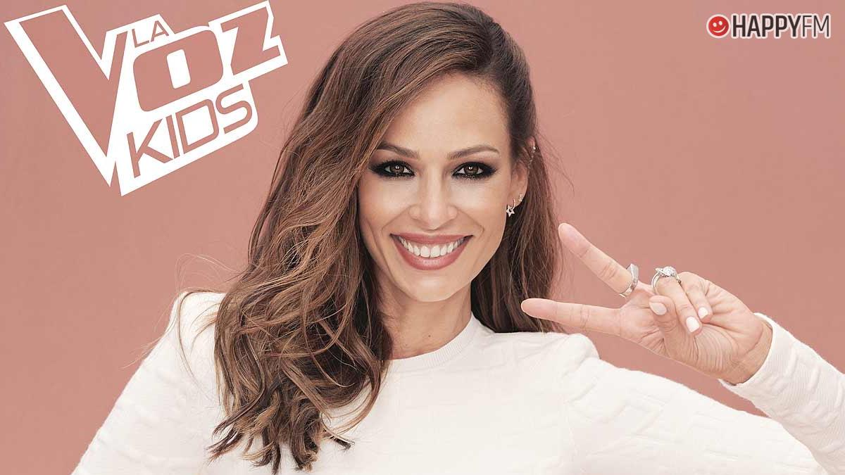 Eva González en La Voz Kids