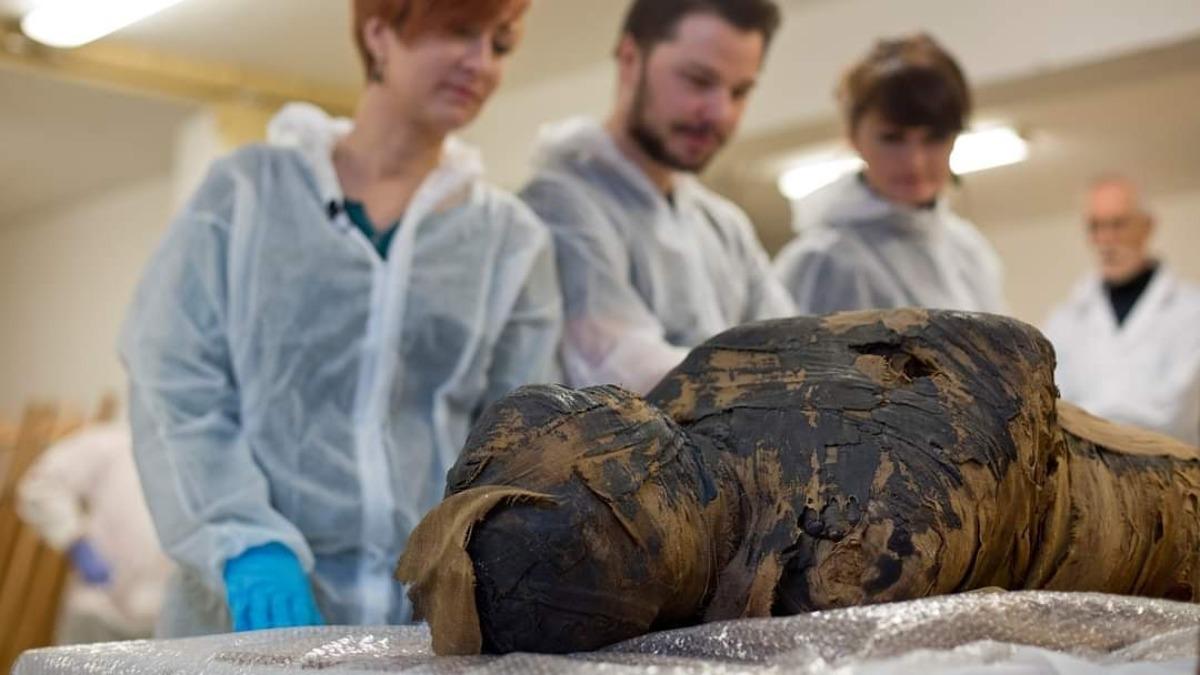Los investigadores de la momia del Antiguo Egipto