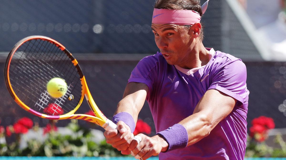 Nadal se mide a Popyrin este jueves en octavos del Mutua Madrid Open
