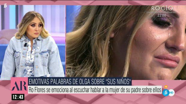 Rocío Flores aclara el papel de Olga Moreno y Rocío Carrasco en su vida