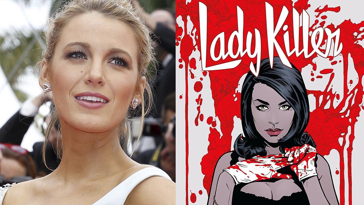 Blake Lively será la «Lady Killer» de Netflix