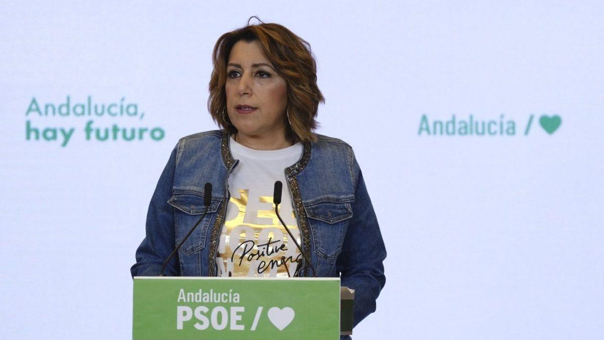 Susana Díaz, secretaria general del PSOE-A (Foto: PSOE).