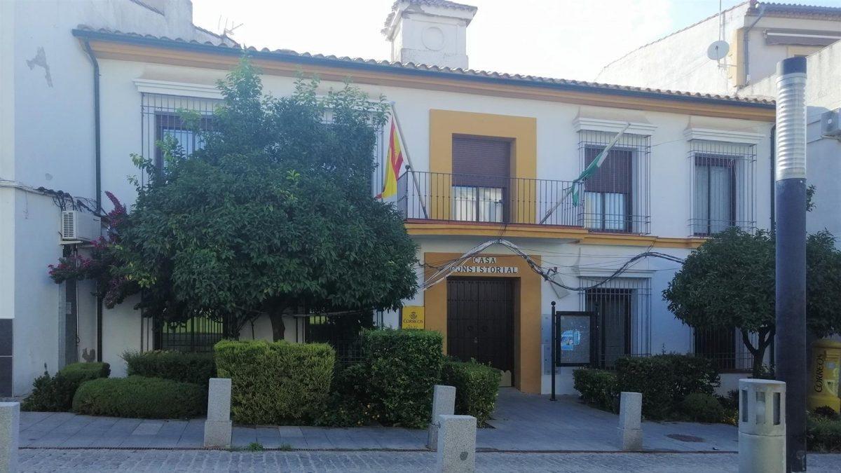 Ayuntamiento de Guadalcázar, en Córdoba.