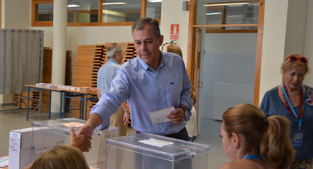 José Luis Sanz, alcalde de Tomares (Sevilla). (Foto: Ayuntamiento de Tomares)