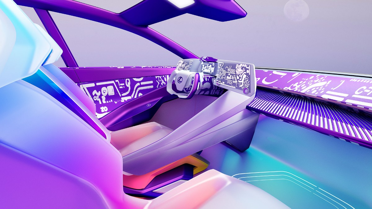 LF-Z Electrified, su último vehículo conceptual eléctrico. (Lexus)