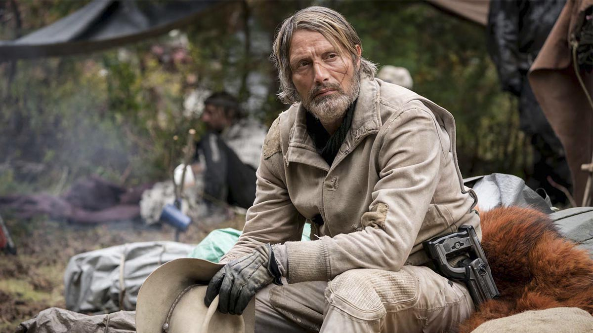 Mads Mikkelsen en «Chaos Walking» (Lionsgate Films)