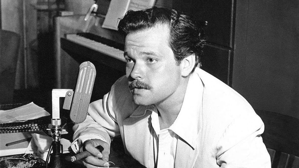El actor y director, Orson Welles