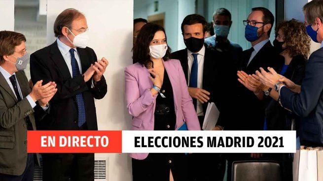 Resultados elecciones de Madrid 2021 hoy, en directo: Ángel Gabilondo ingresado en el hospital y últimas noticias sobre Ayuso