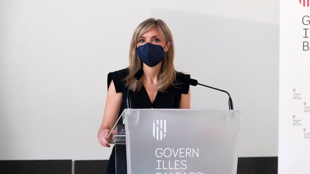 Patricia Guasp, líder de Ciudadanos en Baleares.