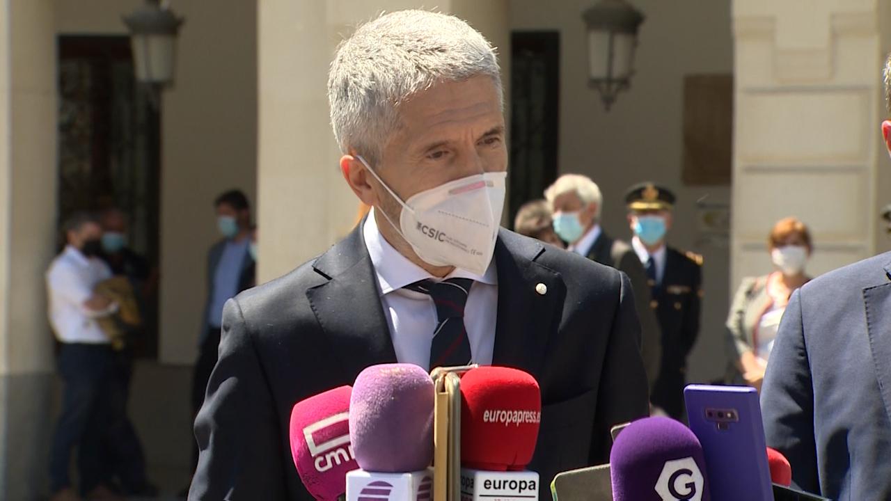 El ministra Grande-Marlaska.