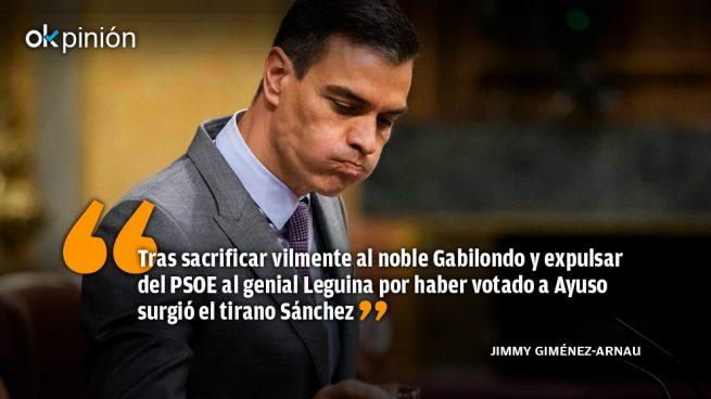 Ayuso obliga a Sánchez a convertirse en dictador