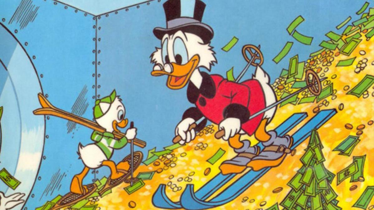 El tío Gilito (Disney) ocupa el puesto número uno en el ranking