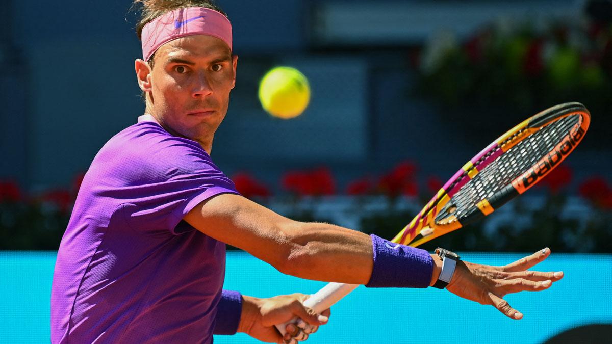 Nadal ya conoce su camino en el Masters 1000 de Roma (AFP)