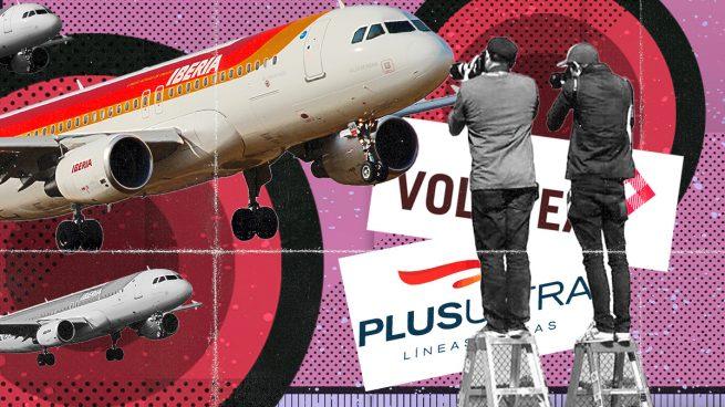 Plus Ultra y Volotea se interesan por los vuelos que tendrá que ceder Iberia en Barajas por competencia