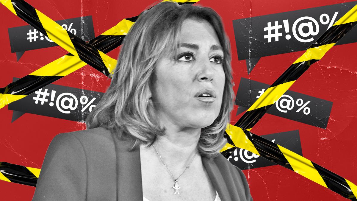 Susana Díaz censura sus redes sociales de cara a las primarias.