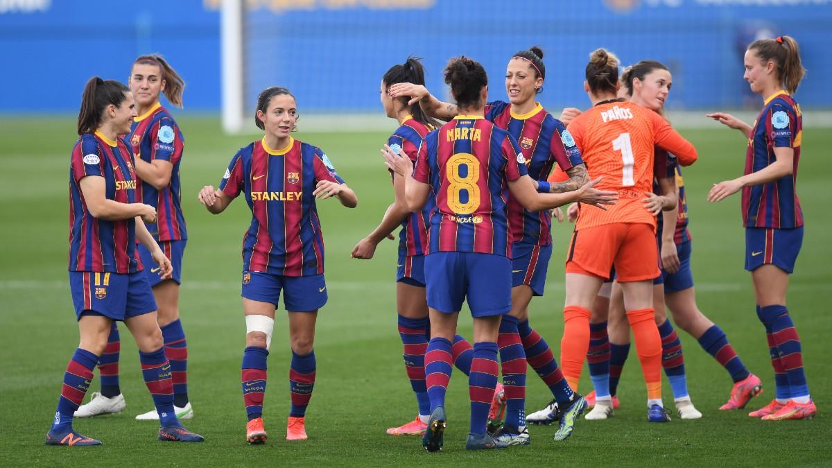 El Barcelona canta el alirón y ya es campeón de la Liga Iberdrola. (Getty)