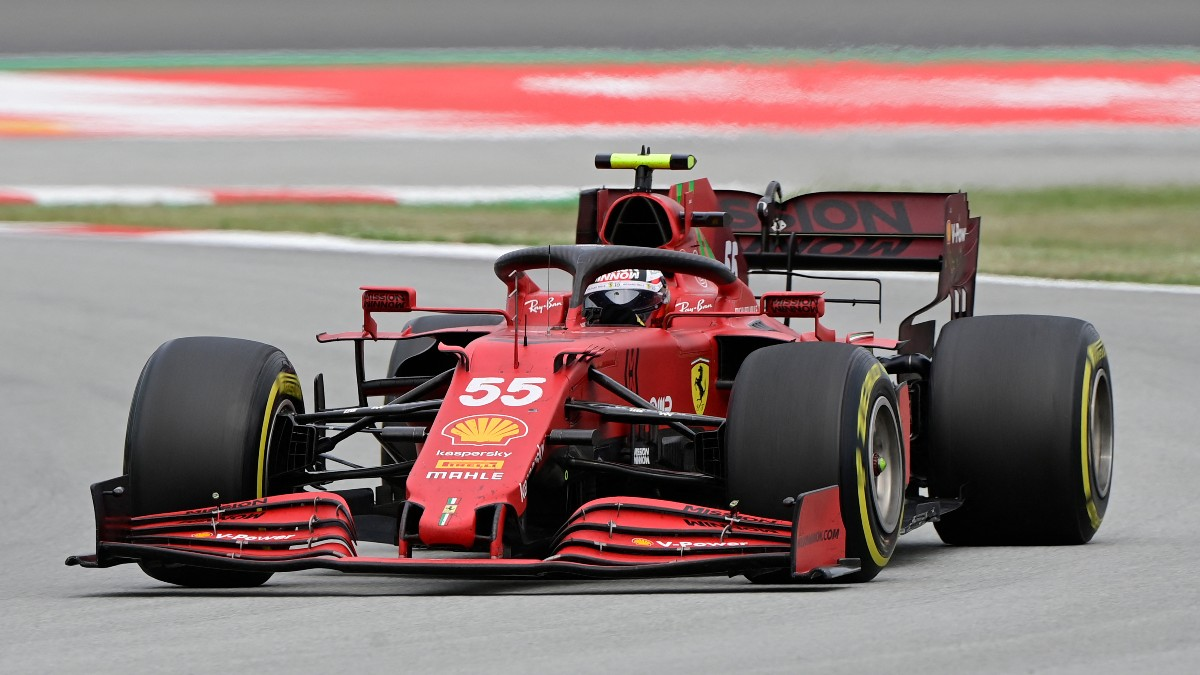 Sainz terminó frustrado en Montmeló. (AFP)