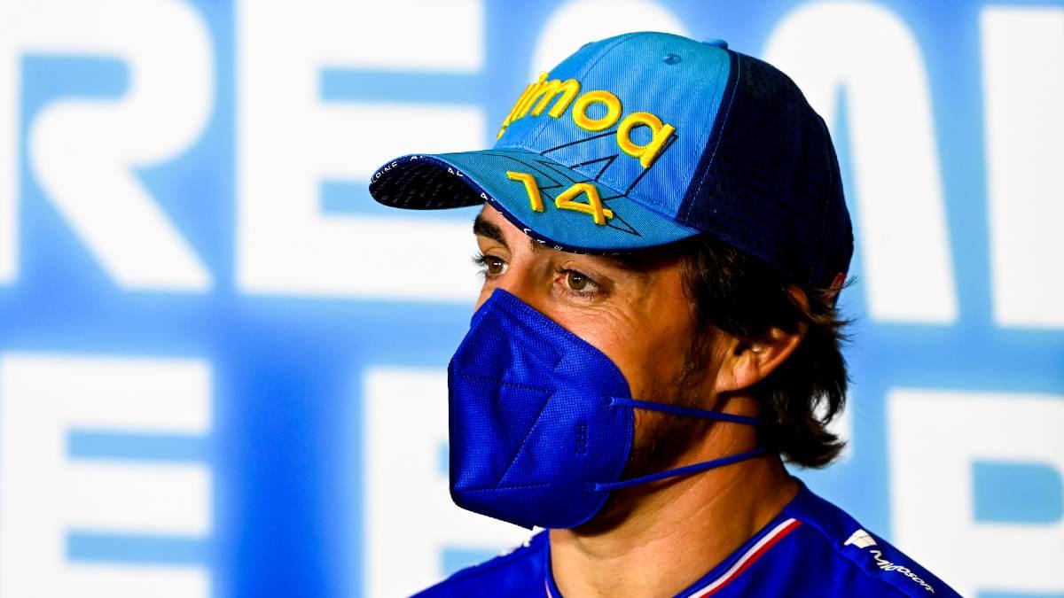 Fernando Alonso: «Hemos hecho una estrategia suicida». (AFP)